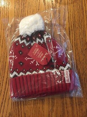 Tim Hortons Warm Wishes Ltd Ed Toque Holiday 2016 Winter Hat New Beanie