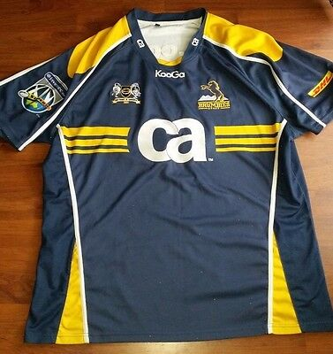 rugby union - super rugby - act brumbies 2013 centenary jersey - size adult XXL