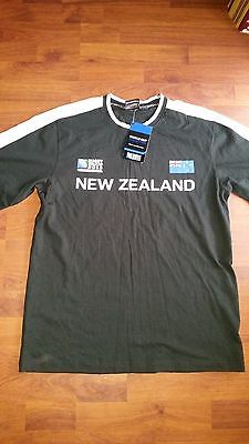 rugby union - new zealand 2011 world cup final shirt - BNWT - size adult M