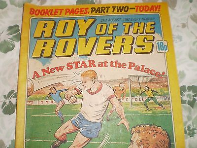 ROY OF THE ROVERS COMIC - AUGUST 21st 1982