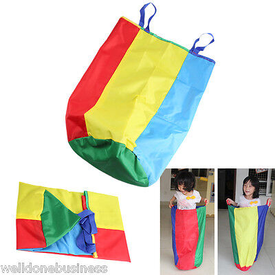 Wear-Resistant Sack Jumping Bag Race Game Outdoor Sports Activity Toy for Kids