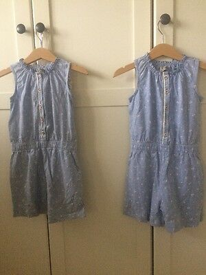 Girls  Next Playsuits Twins Age 3 BNWOT