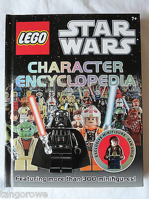 Lego Star Wars  Character Encylopedia ' Book with Han  Solo minifigure (New)