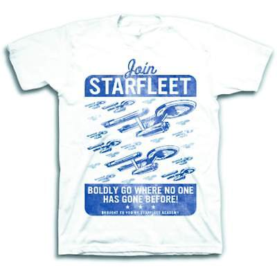 Star Trek: Join Starfleet White T-Shirt