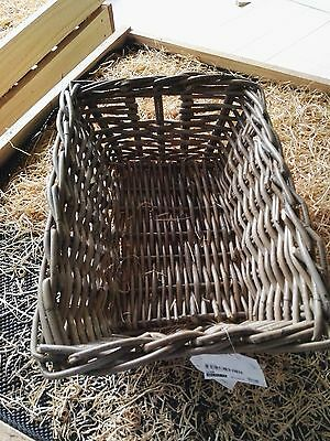 French Country Style Cane Wicker Serving baskets Large size