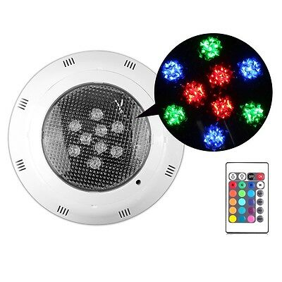 RGB 7 Colors Underwater Swimming Pool Light Pond Fountains Lamp+Remote Control