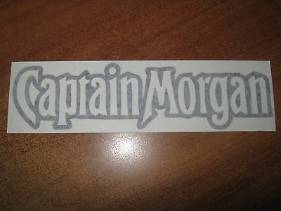 "Captain Morgan - Vinyl Sticker - In ""black"""
