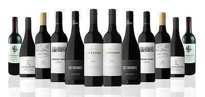 Australian Mixed Red Wines incl Shiraz,Merlot & Cab Sauv (12x750ml)Free Shipping