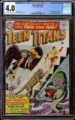 Teen Titans # 1 CGC 4.0 OW/W (DC, 1966) 1st Teen Titans in own series
