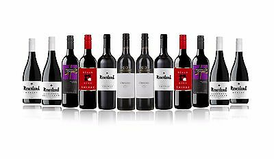 Premium SA Mixed Red Wine Case Featuring Lindemans Origins Shiraz (12x750ml)