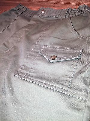 OFFICIAL BOY SCOUTS OF AMERICA  Green Uniform Shorts Mens 31 (6) pockets Size 22