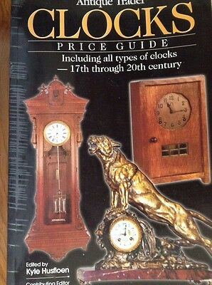 CLOCKS Price Guide All Types 17th Though 20th Century,  286 Page Book