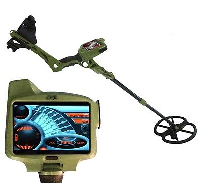 """Metal Detector Ground EFX MX 400 GPS 13"""" DD search Gold Metal Coins"""