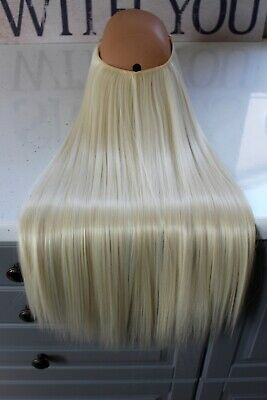 """Halo Hair Extensions Headband Invisible Wire Flip In Hidden Secret 22"""" 140g"""