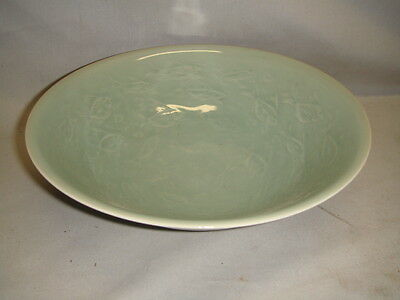 Old Korean Porcelain Bowl w/ Celadon Glaze Mark under Glaze
