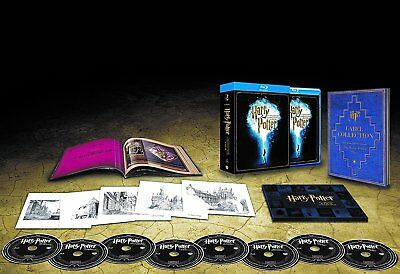 Harry Potter [Blu-ray] Komplettbox Booklet Collection 1-7.2 Alle Teile NEU OVP