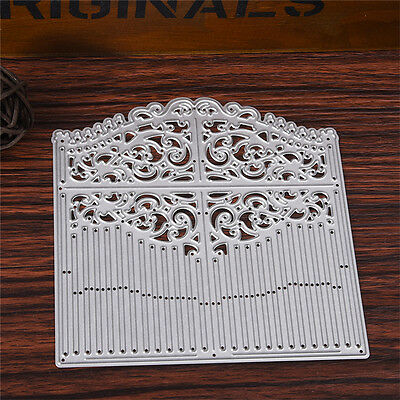 Door Metal DIY Cutting Dies Stencil Scrapbook Paper Card Embossing Craft
