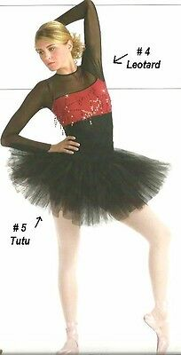 Sizzle Dance Costume Ballet Tutu and Leotard Ballerina Clearance Child X-Small