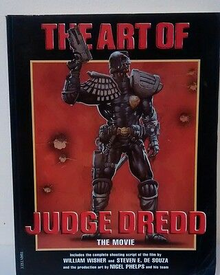 THE ART OF JUDGE DREDD The Movie -1995