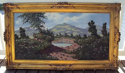 Miklos Neogrady ( Hungarian 20th century) original signed oil on canvas painting