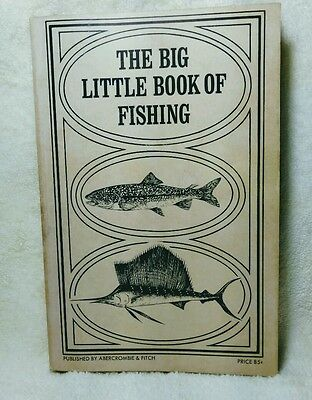 Abercrombie & Fitch The Big Little Book of Fishing 1968 Catalog