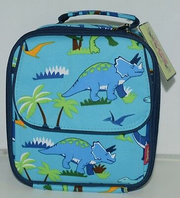 NGIL DIN407 Friendly Dinosaur Insulated Square Lunch Bag