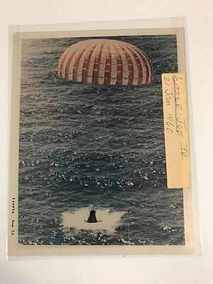 4x5 NASA Transparency Little Joe Return to Earth 1960 #NA3