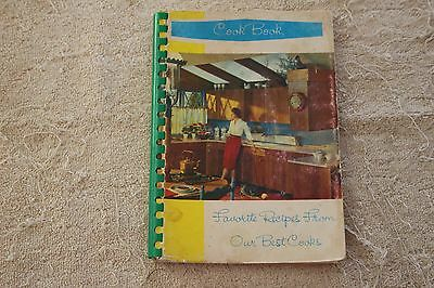 Favorite Recipes From Our Best Cooks Cookbook- Bastrop, Louisiana- Great Recipes