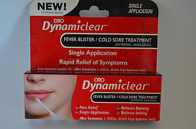 Oro Dynamiclear Fever Blister / Cold Sore Treatment Exp. 9/19