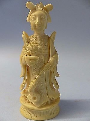 Very Beautiful Old Chinese Figure Of A Lady - Rare - L@@k