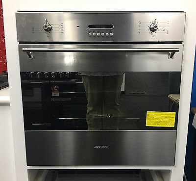 Smeg 60cm Electric Wall Oven Stainless Steel