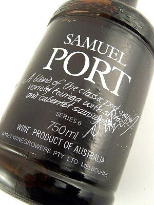 1981 circa NV WYNNS Samuel Port Series 6 Isle of Wine