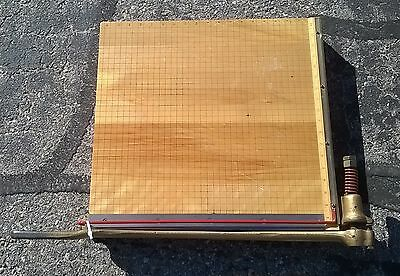 """Ingento No 5 1/2 Guillotine Paper Cutter 18"""""""