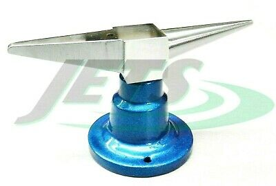 "4-3/4"" Jewelers Double Horn Anvil Bench Mounted Metalsmith Forming Tool"