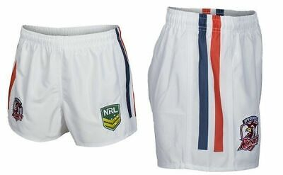 Sydney Roosters NRL 2019 Home Supporters Shorts Adults & Kids Sizes!