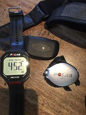 Polar RCX5 Watch And S3 Foot Pod
