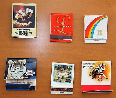Collection of 29 various Matchboxes/Matchbooks used condition