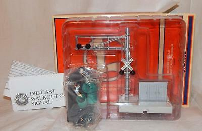 Lionel 6-22934 Mainline Walkout Cantilever Signal w/ OVERHEAD Flasher O/ S