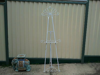 Large Metal Decorative Easel Painting Display Stand