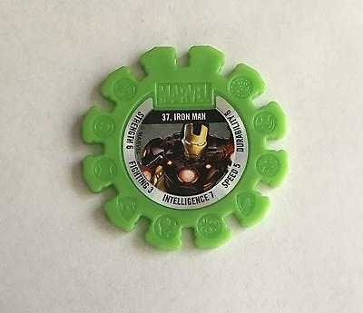 Woolworths Marvel Heroes Collectable Disc #37 Iron Man $1 Combined Postage Aus