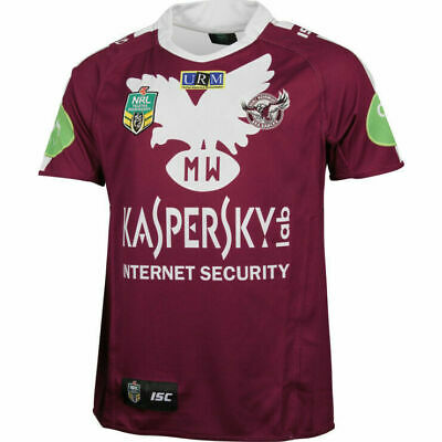 Manly Sea Eagles NRL ISC Heritage Jersey Sizes S-3XL! BNWT's! On Sale!5