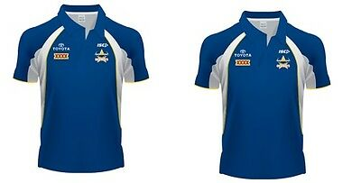 North Queensland Cowboys NRL ISC Players Polo Shirt Selected Sizes! BNWT's!
