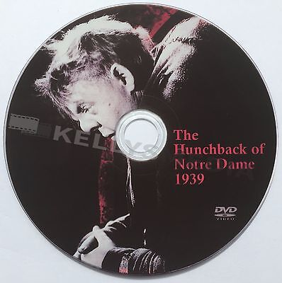 The Hunchback Of Notre Dame (1939) Charles Laughton & Maureen O'hara Dvd