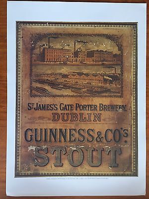 Guinness Set Of 9 Posters