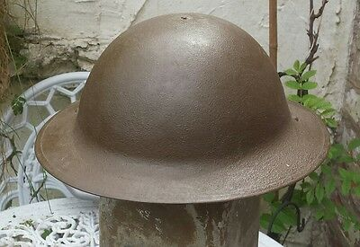 World War 1 British Army Original Brodie Helmet Restored