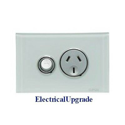 Clipsal Saturn Offer One Single Gang Power Point Switch 4015 Available in Colors