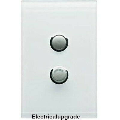 CLIPSAL SATURN Offer 2Gang Universal Dimmer Complete 4062E450UDN Avail in Colors