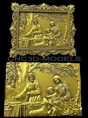 3D Model STL for CNC Router Engraver Carving Artcam Aspire Decor Pano 3024