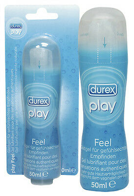 Lubrificante Intimo Vaginale Anale Rapporti Sessuale Durex Play Feel - 50 Ml