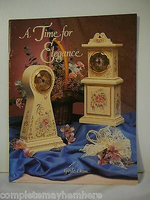 A Time for Elegance by Gayle Oram folk art tole painting